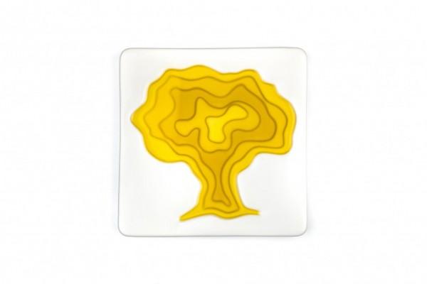 Keramik Olivenöl Schale Baum
