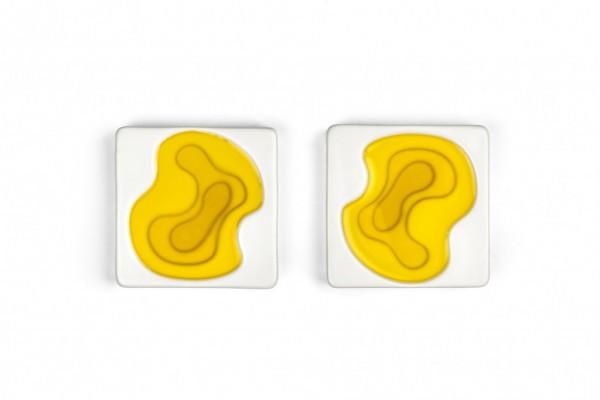 Keramik Olivenöl Schalen Set 2-teilig