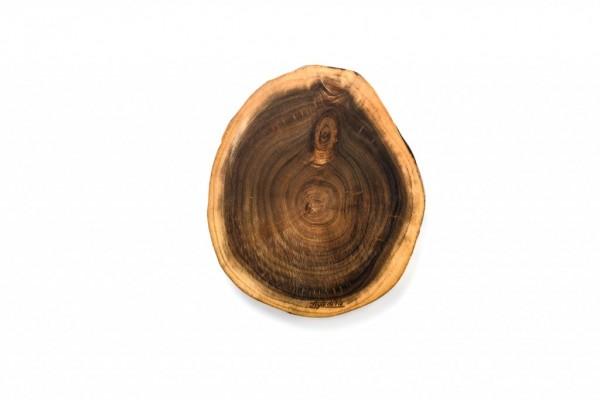 Servier- / Schneidebrett aus Akazienholz Größe M, rund Durchmesser 29 cm